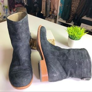Alberto Fermani Made in Italy Suede Ankle Boots